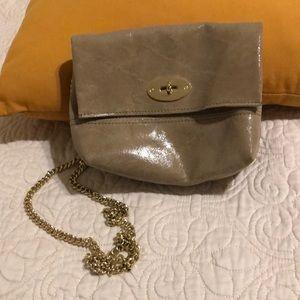 Vera Pelle gold chain purse
